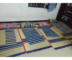 NEW USED MAT, PILLOW & BED SPREAD FOR IMMEDIATE SALE - Image 1/2