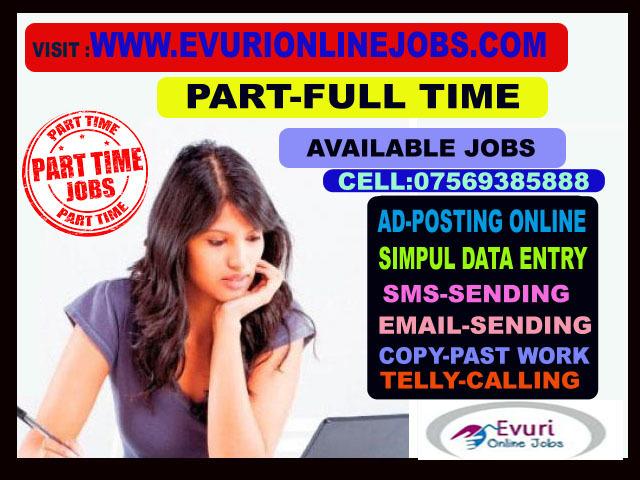 Freelancer Part Time Home Based Jobs - 1/2
