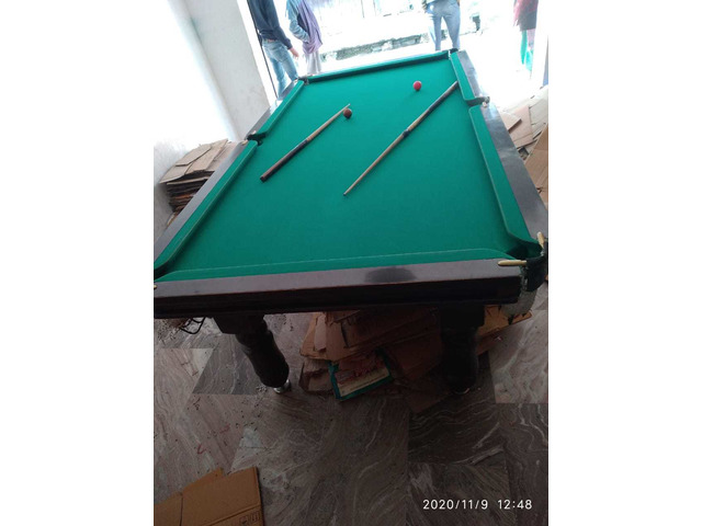 Pool table at cheap rate available at good condition . All the acccessories available - 4/10
