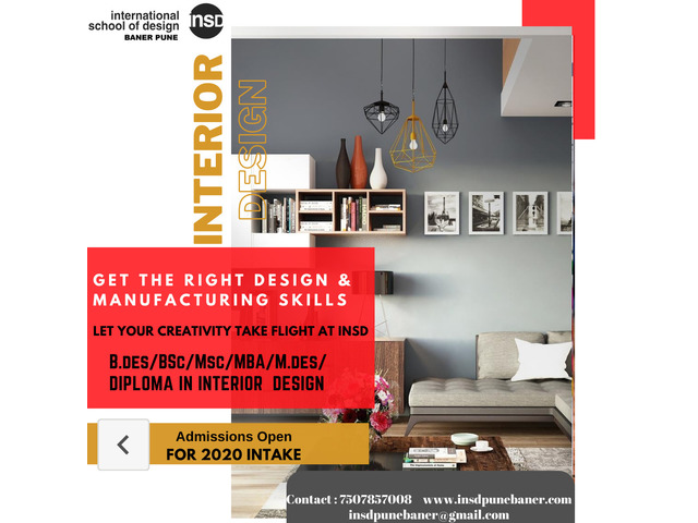 Admission open for Interior and Fashion Designing courses in Pune - 2/2
