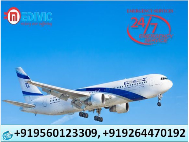 Hire Fast Patient Transfer Air Ambulance in Patna by Medivic Aviation - 1/1