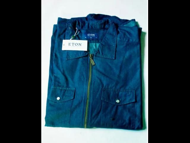 ETON Blue Overshirt - 1/2