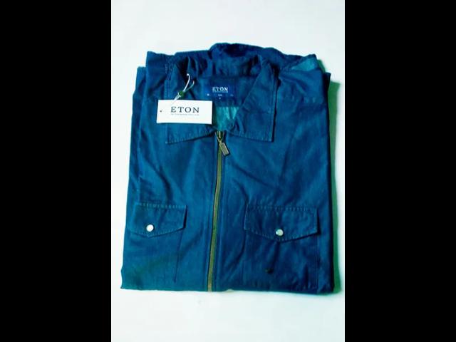 ETON Blue Overshirt - 2/2