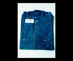 ETON Blue Overshirt - Image 2/2