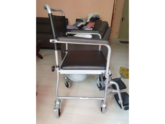 Wheel chair for patient - 1/1