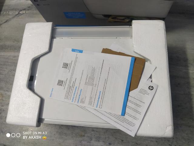 Hp DeskJet Ink Advantage 3636 Wireless All in One Printer - 3/5