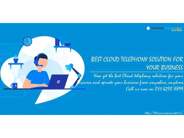 Cloud Telephony Solution in India - 1/1
