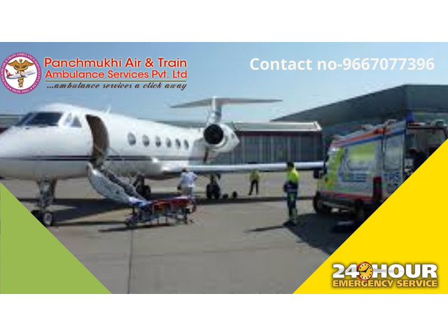 Select Safest Air Ambulance Service in Raigarh with Proficient Medical Crew - 1/1