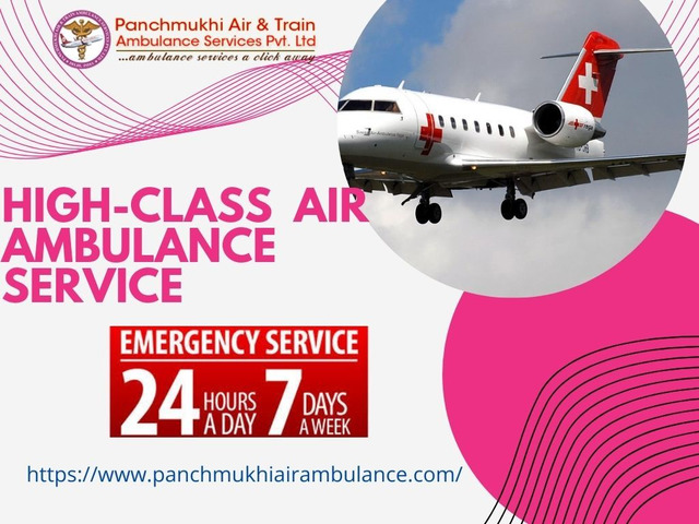Avail the Prevalent Air Ambulance Service in Silchar by Panchmukhi - 1/1