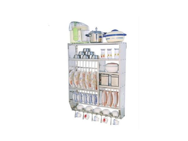 Stainless steel Kitchen Utensil Stand - 1/3