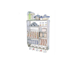 Stainless steel Kitchen Utensil Stand - Image 1/3