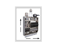 Stainless steel Kitchen Utensil Stand - Image 2/3
