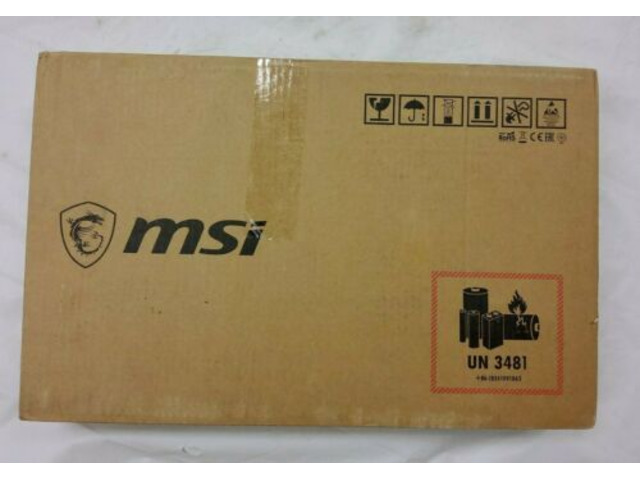 "MSI GS65 Stealth 8SE Laptop 15.6"" i7-8750H 16GB 512GB SSD Win-10 Home RTX 2060 - 1/4"