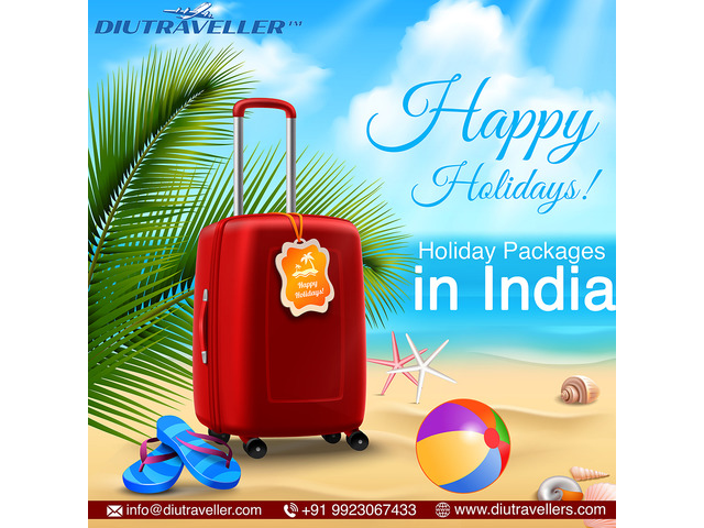 Holiday Packages in India, Tour Agency- All India Destination | DiuTraveller.com - 1/1