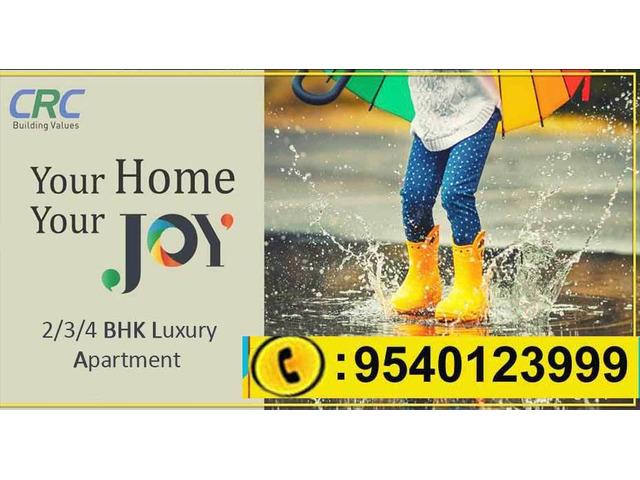 CRC Joyous Construction Update, CRC Joyous Floor Plan - 1/7