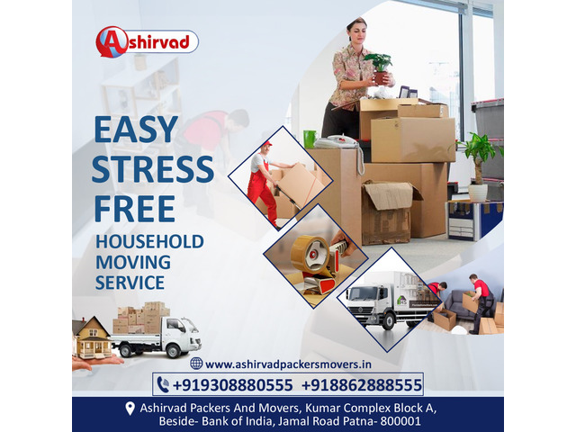 Ashirvad packers and movers Darbhanga - Best packers and movers in Darbhanga - 5/9