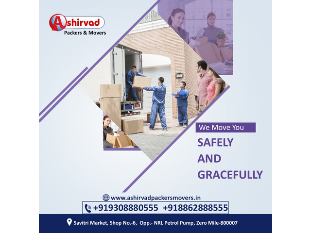 Ashirvad packers And movers in Muzaffarpur - Best packers and movers Muzaffarpur - 4/9