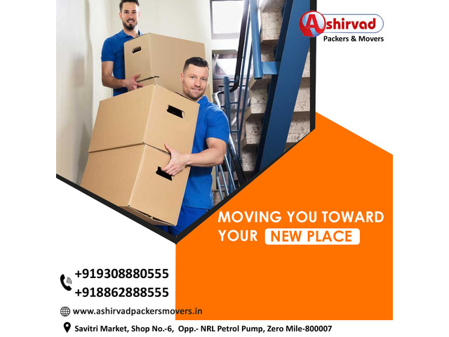 Ashirvad packers And movers in Muzaffarpur - Best packers and movers Muzaffarpur - 8/9