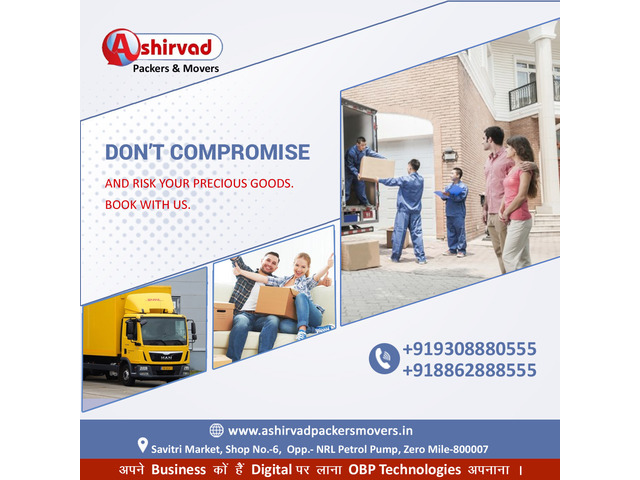 Ashirvad packers And movers in Muzaffarpur - Best packers and movers Muzaffarpur - 9/9