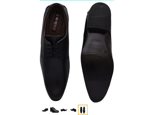"Unboxed Mens formal shoe  size 8&9 ""SIR CORBETT"" brand - 6/6"