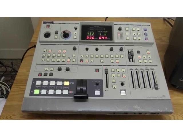 Panasonic AV Mixer - 1/3