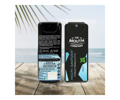 The Mouth Company Mouth Sanitizer Spray (Cool Mint) - World's First - Pack of 3 - Image 2/3