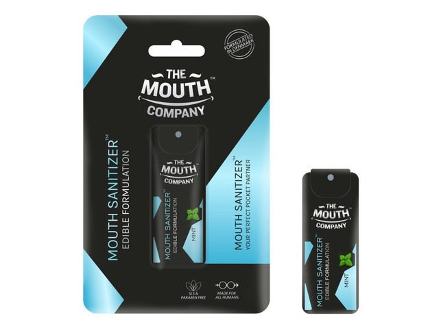 The Mouth Company Mouth Sanitizer Spray (Cool Mint) - World's First - Pack of 3 - 3/3