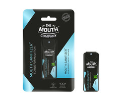 The Mouth Company Mouth Sanitizer Spray (Cool Mint) - World's First - Pack of 3 - Image 3/3