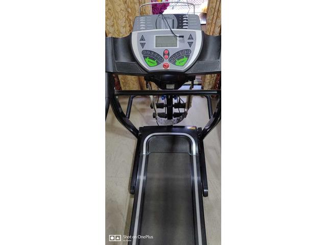 JSB HF39 Home Motorized Fitness Treadmill for Weight Loss 1.5HP (3HP Peak) - 2/5