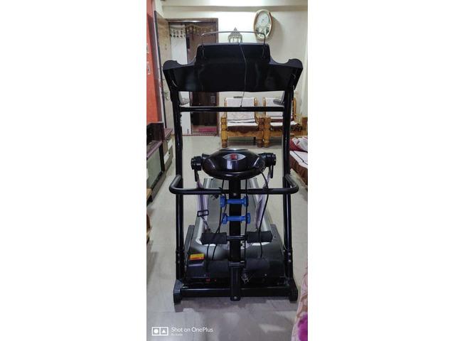 JSB HF39 Home Motorized Fitness Treadmill for Weight Loss 1.5HP (3HP Peak) - 3/5
