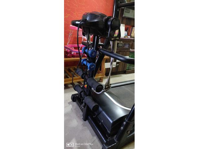 JSB HF39 Home Motorized Fitness Treadmill for Weight Loss 1.5HP (3HP Peak) - 4/5