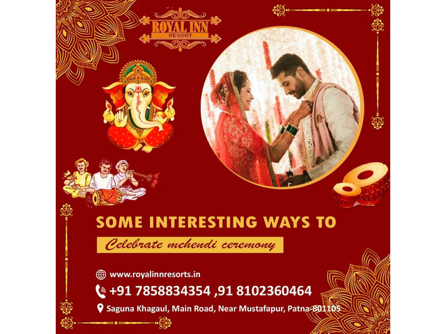 Royal inn resorts- best marriage hall in patna - 1/4