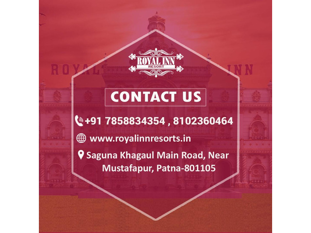 Royal inn resorts- best marriage hall in patna - 2/4
