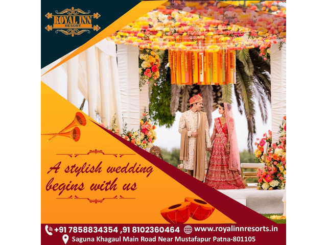 Royal inn resorts- best marriage hall in patna - 3/4