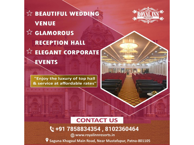 Royal inn resorts- best marriage hall in patna - 4/4