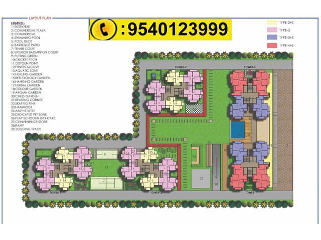 Trident Embassy Reso Noida West, Trident Embassy Reso Noida Extension - 4/4
