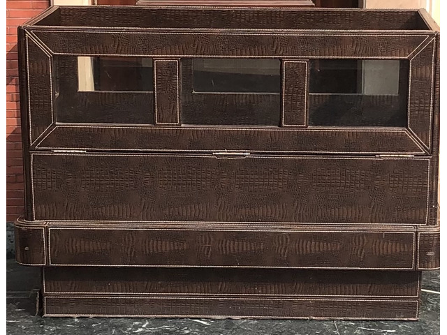 Wooden cot or kids bed with mattress - 2/3