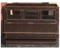 Wooden cot or kids bed with mattress - Image 2/3