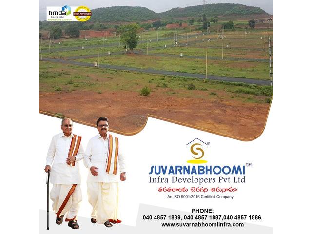 Plots for sale in Hyderabad   Suvarnabhoomi Infra Developers - 1/4
