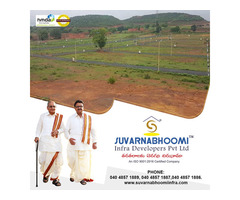 Plots for sale in Hyderabad   Suvarnabhoomi Infra Developers - Image 1/4