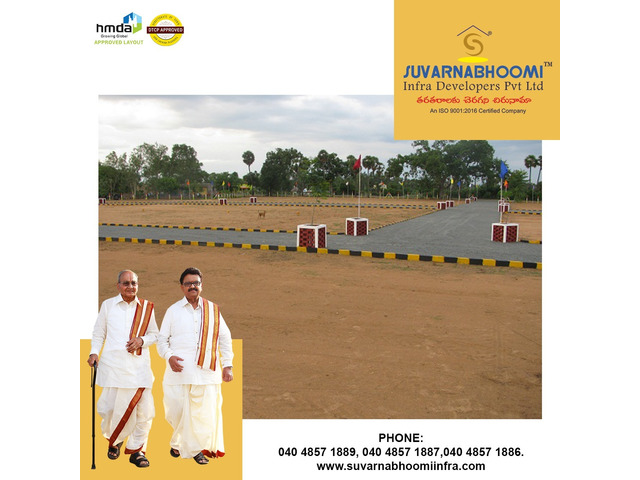 Plots for sale in Hyderabad   Suvarnabhoomi Infra Developers - 2/4