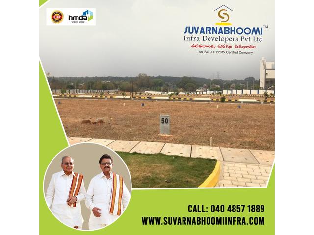 Plots for sale in Hyderabad   Suvarnabhoomi Infra Developers - 3/4