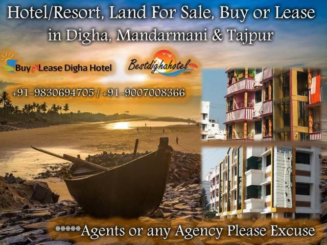 Beautiful Resorts Available For Sale in Mandarmani and Tajpur - 1/1