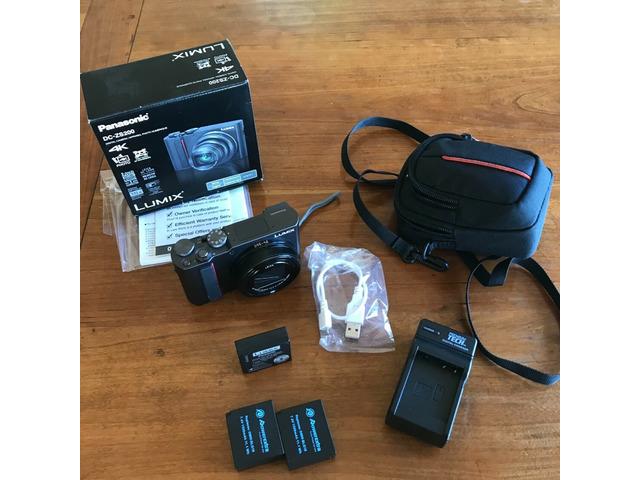 Panasonic Lumix DC-ZS200 20.1MP f/3.3-6.4 24-360mm ASPH Leica mint - 1/3