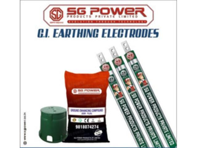 GI Earthing Electrode Manufacturer   Supplier - 1/1