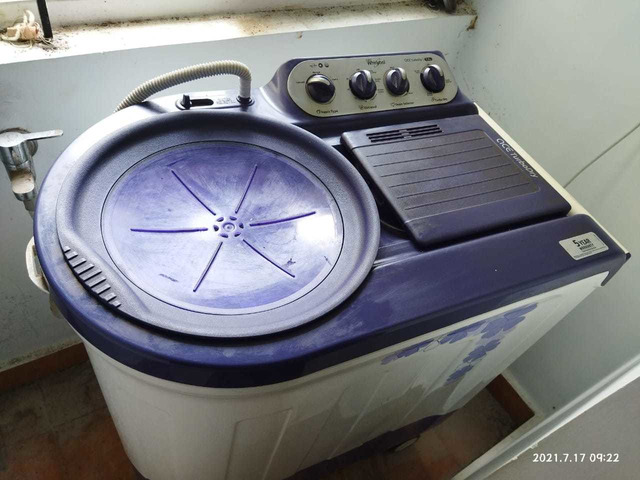whirlpool wahing machine 7.kg - 1/7