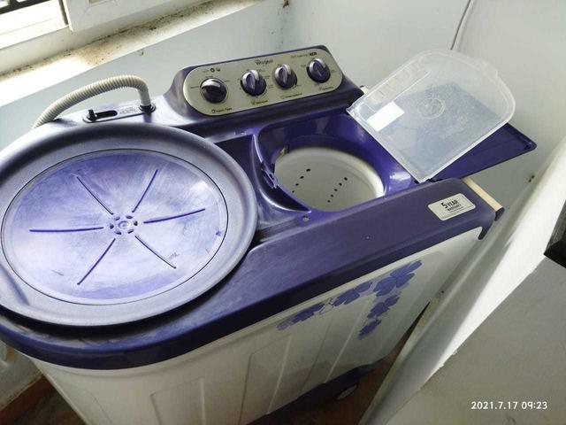 whirlpool wahing machine 7.kg - 6/7