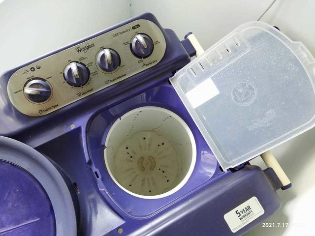 whirlpool wahing machine 7.kg - 7/7
