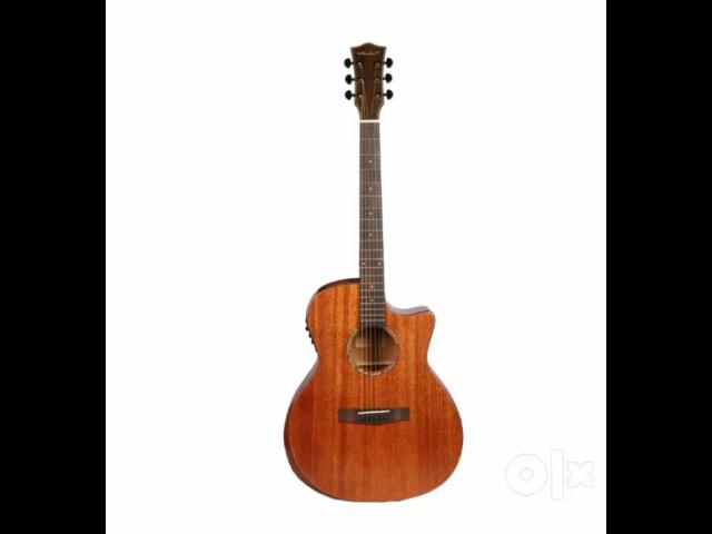 """Vault S360T-SK 41"""" Premium Electro Acoustic Guitar, Fishman Pickup - 1/4"""
