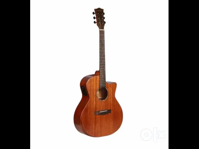 """Vault S360T-SK 41"""" Premium Electro Acoustic Guitar, Fishman Pickup - 3/4"""